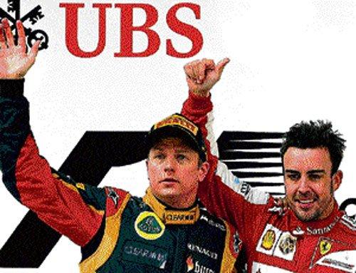 Kimi no obstacle: Ferrari