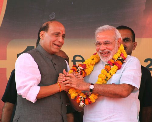 Modi may don the mantle