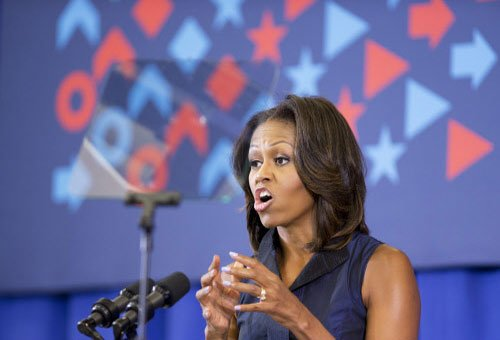US First Lady asks American to 'Drink Up'