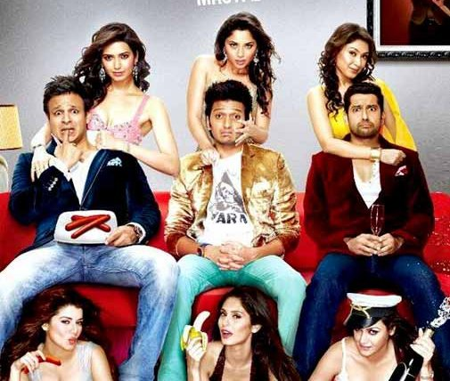 Grand Masti movie review: All about double entendres