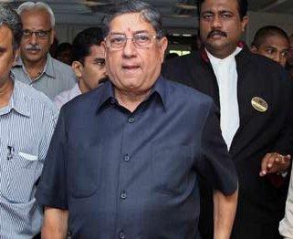 Srinivasan at disciplinary panel meet, raises eyebrows