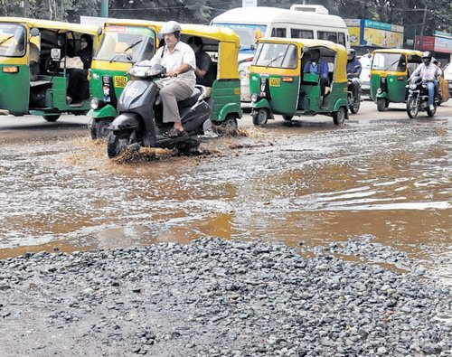 'Countless' potholes in technology City