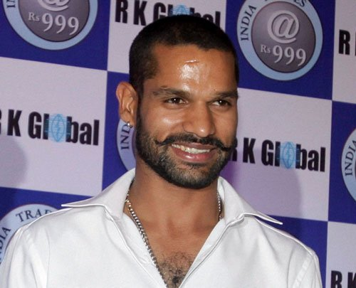 Dhawan to captain Sunrisers in Champions League