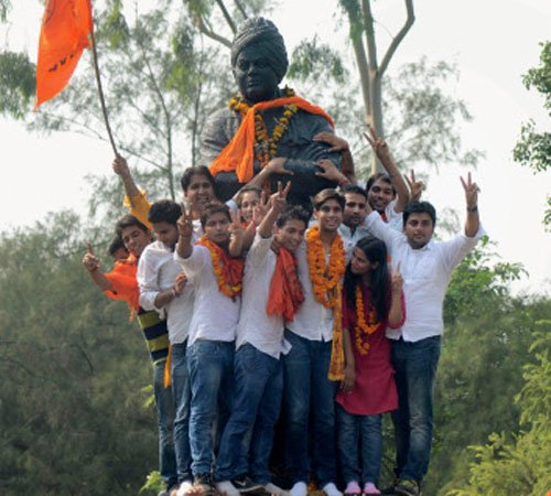 BJP's ABVP wrests control of DUSU from NSUI