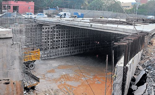 CNR Rao underpass: No end in sight