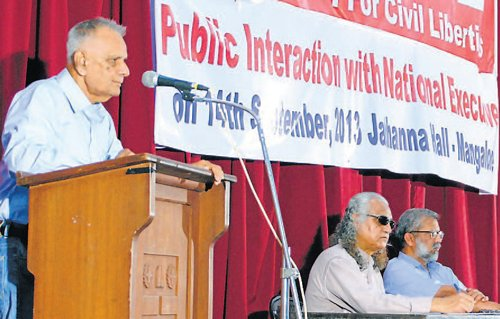 Democracy in peril in India, warns PUCL leader