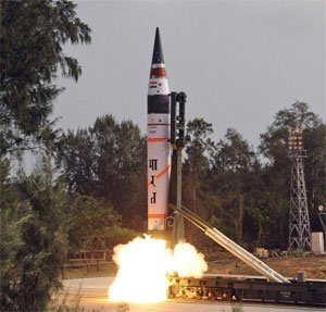 Nuclear-capable 'Agni-V' tested for second time