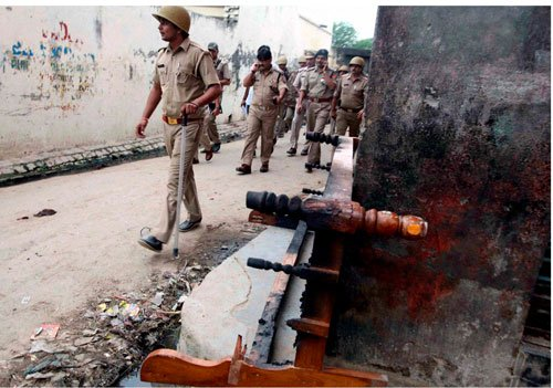 SSP posted in Muzaffarnagar during riots suspended