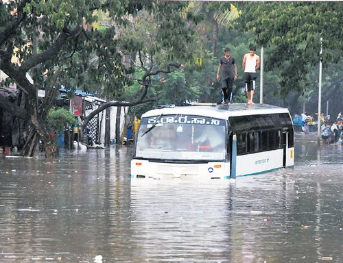Rain leaves 250 houses partially damaged in Yadgir