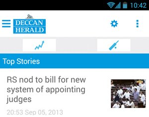 Deccan Herald Android app for phones now live