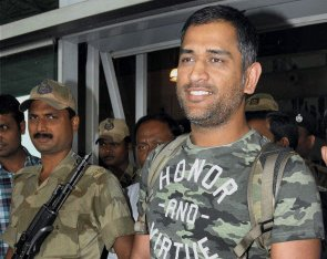 Dhoni's penchant for bikes puts police on toes