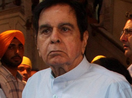 Dilip Kumar stable after heart attack
