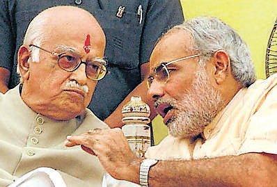Now, Advani praises Modi