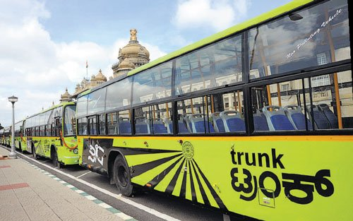 Trunk bus services launched  to ease congestion in City