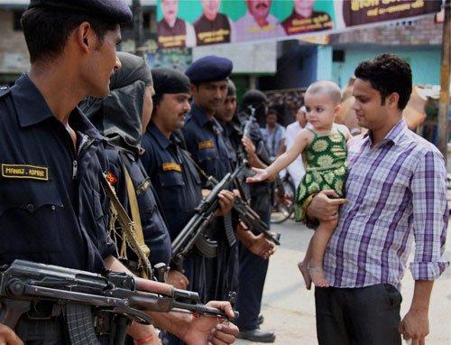 Army begins leaving Muzaffarnagar