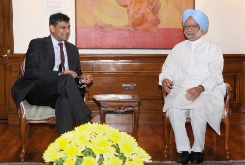 Rajan meets PM, FM ahead of his maiden policy