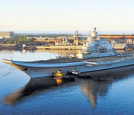 Vikramaditya's sea trials completed successfully