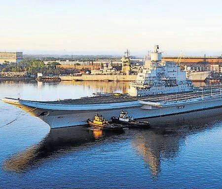 Vikramaditya's sea trials completed successfully