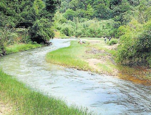 Villagers unaware of river diversion