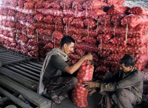 Imported onion arrival brings down wholesale prices by Rs10/kg