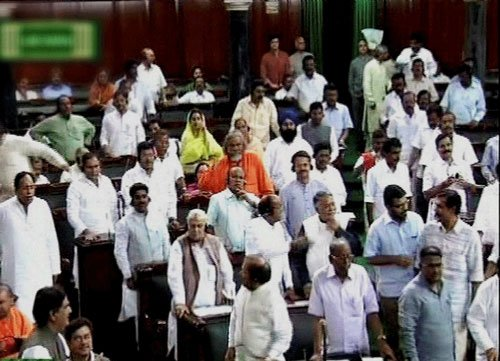 SP, BJP members come to blows in UP Assembly