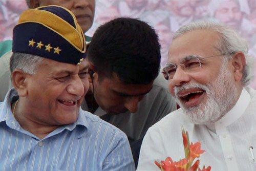 Congress, BJP slugfest over Gen. V.K. Singh