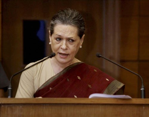Sushma's remarks 'immature', Sonia can be PM anyday: Cong