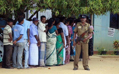 Sri Lankans told not to vote for Tamil group: NYT