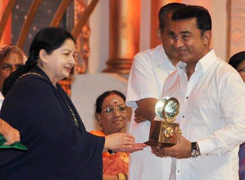 Jaya lashes out at arch rival Karuna at cinema centenary