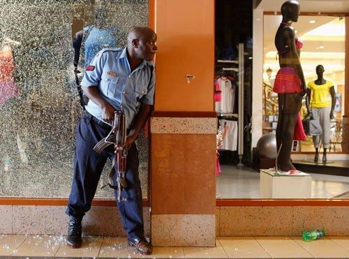 Nairobi mall shooting may be 'terrorist' attack: government