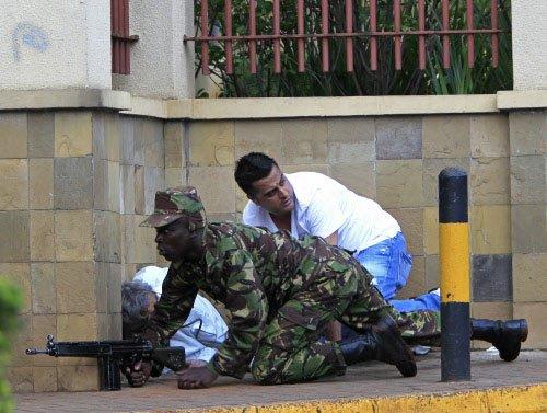 Gunfire erupts at Kenyan mall, 59 dead in Islamist attack
