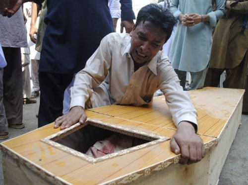 Suicide bombers strike Pak church, 78 killed