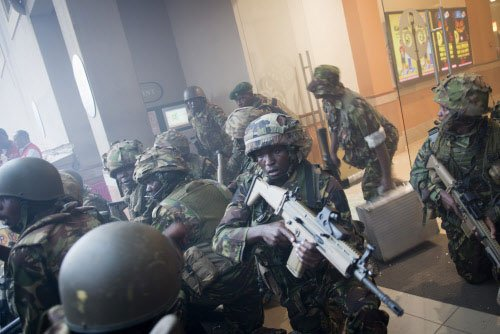 Most hostages at Nairobi mall rescued, says military