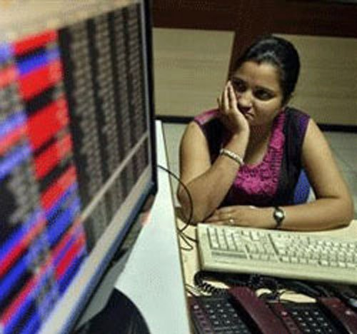 Sensex dips below crucial 20k level at mid-session