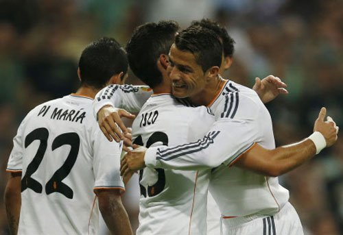 Real Madrid enjoy easy win at home to Getafe