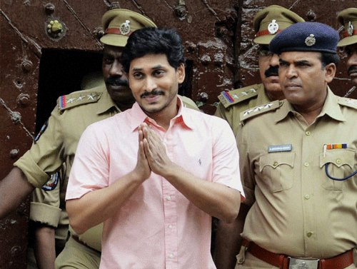 Jaganmohan gets bail, told not to leave Hyderabad