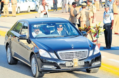 State buys bulletproof Merc to ferry VVIPs