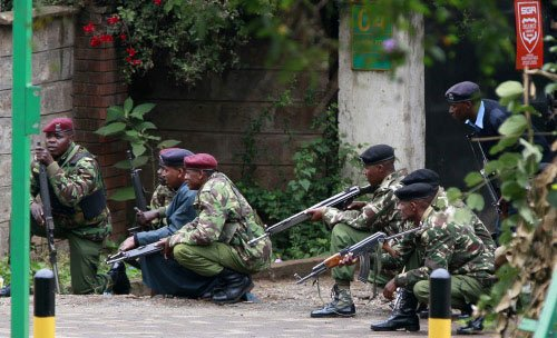 Kenya troops have mall 'under control' after 3-day bloodbath