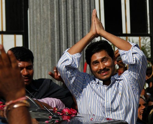 Jaganmohan Reddy released from jail
