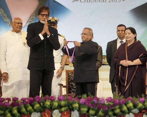 Big B, Rekha, Parvathamma, Sridevi among lifetime awardees