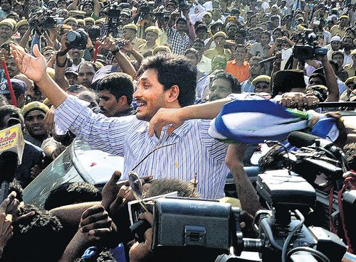 Jagan gets hero's welcome