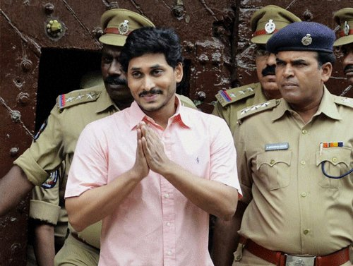 After release, Jagan promptly gets back to business