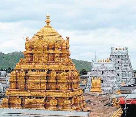 Rs 24-cr gold chariot ready for trial run in Tirumala