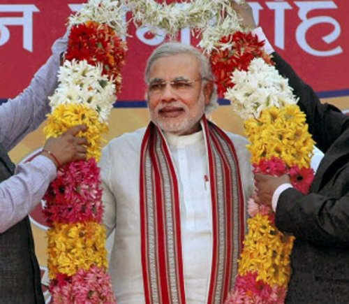 BJP plans Modi rally on Bangalore outskirts