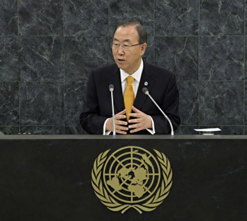 UN votes to eliminate Syria's chemical weapons