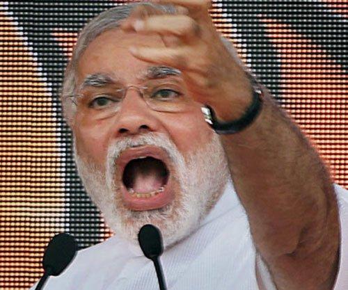 Modi rides on Rahul tirade to mock UPA