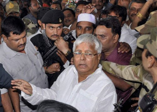 Lalu convicted in fodder scam, faces disqualification as MP