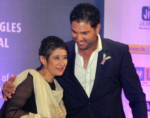 Cancer has an answer, say Manisha, Yuvraj