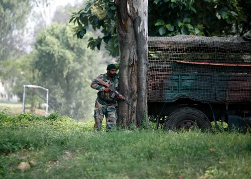 Another ceasefire violation on the LoC