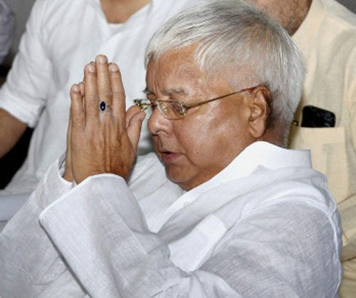 Lalu pleads innocence, says there was no evidence